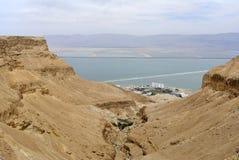 Desfiladeiro de Ein Bokek. Foto de Stock