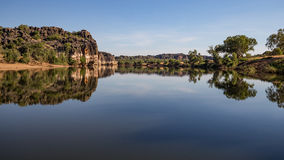 Desfiladeiro de Geikie, cruzamento de Fitzroy, Austrália Ocidental Imagens de Stock