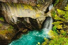 Desfiladeiro de Gudbrandsjuvet em Noruega Imagem de Stock