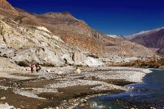 Desfiladeiro de Kali-Gandaki fotos de stock royalty free