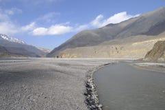 Desfiladeiro de Kali-Gandaki, mustang Imagens de Stock Royalty Free