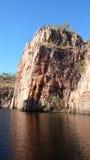 Desfiladeiro de Katherine do rio Imagem de Stock Royalty Free