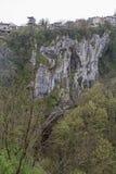 Desfiladeiro de Pazincica Imagem de Stock