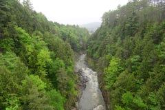 Desfiladeiro de Quechee, Vermont, EUA Imagem de Stock Royalty Free