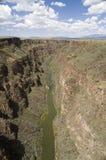 Desfiladeiro de Rio Grande Foto de Stock