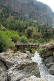 Desfiladeiro de Samaria Imagem de Stock
