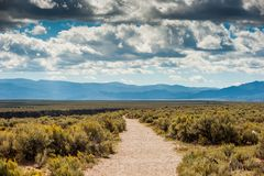 Desfiladeiro de Taos, Taos New mexico Imagem de Stock Royalty Free