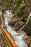 Desfiladeiro de Wimbachklamm Foto de Stock Royalty Free