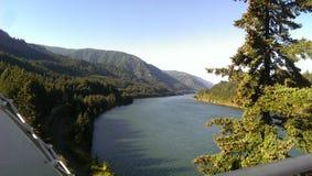 Desfiladeiro do Rio Columbia Fotos de Stock Royalty Free