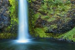 Desfiladeiro do Rio Columbia da cachoeira de Latourell Imagens de Stock