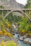 Desfiladeiro do rio de Shotover Imagens de Stock