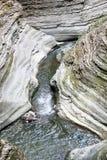 Desfiladeiro do vale de Watkins Fotografia de Stock Royalty Free