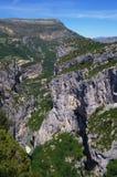 Desfiladeiro du Verdon Foto de Stock