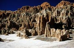 Desfiladeiro Nevada da catedral Imagens de Stock