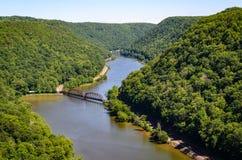 Desfiladeiro novo do rio, I foto de stock royalty free