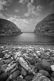 Desfiladeiro velho Lord Howe Island Fotografia de Stock Royalty Free