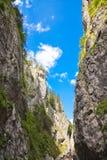 Desfiladeiros de Bicaz fotografia de stock