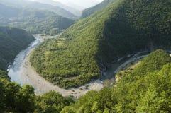 Desfiladeiros do rio Foto de Stock Royalty Free