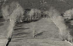 Desfiladero de Estacas de Trueba, Burgos Imagen de archivo