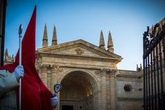 Desfilan los procesionales en Zamora Fotografía de archivo