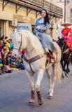 Desfile节日Mexicanas 图库摄影