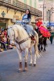 Desfile节日Mexicanas 免版税库存照片