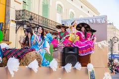 Desfile节日Mexicanas 库存图片