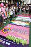 Desfile 2009 del orgullo de Hong-Kong Fotos de archivo libres de regalías