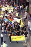 Desfile 2009 del orgullo de Hong-Kong Fotografía de archivo libre de regalías