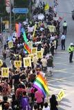 Desfile 2009 del orgullo de Hong-Kong Imagen de archivo