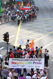 Desfile 2009 del orgullo de Hong-Kong Fotos de archivo