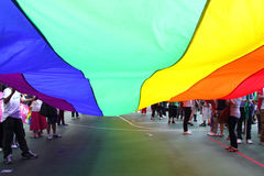 Desfile 2009 del orgullo de Hong-Kong Imagen de archivo libre de regalías