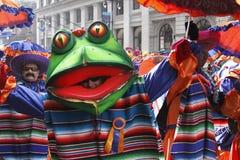 Desfile 2010 de las máscaras Imagenes de archivo