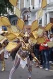 Desfile 2010 del festival de Notting Hill Imágenes de archivo libres de regalías