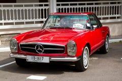 Desfile 2011 del coche de la vendimia de Hua Hin Imagenes de archivo