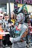 Desfile 2012 de Zinneke en Bruselas Imagen de archivo
