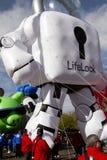 Desfile 2012 del cuenco de la fiesta Inflatables grande Foto de archivo libre de regalías