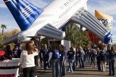 Desfile 2012 del cuenco de la fiesta Inflatables grande Foto de archivo