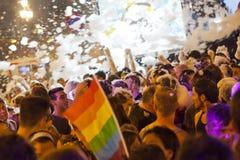 Desfile 2012 del orgullo Foto de archivo