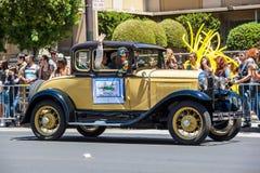 Desfile alegre 2012 del orgullo de San Francisco Foto de archivo