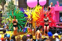 Desfile alegre de Tel Aviv 2010 Foto de archivo libre de regalías