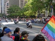 Desfile alegre del orgullo Imagenes de archivo