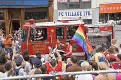 Desfile alegre del orgullo Fotos de archivo