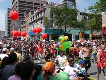 Desfile alegre del orgullo, Toronto, 2011 Fotografía de archivo