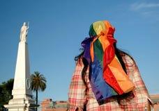 Desfile alegre la Argentina Imagenes de archivo