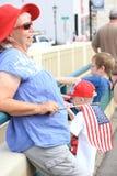 Desfile americano del D?a de la Independencia fotografía de archivo