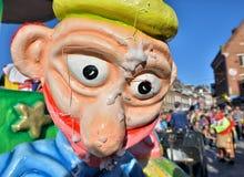 Desfile anual do carnaval em Nivelles, Bélgica Fotos de Stock Royalty Free