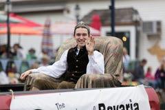 Desfile bávaro del festival imagen de archivo libre de regalías