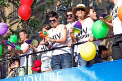 Desfile Barcelona 2011 del orgullo Fotos de archivo