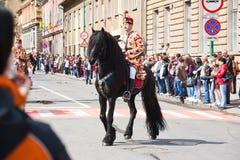 Desfile Brasov de Juni foto de archivo
